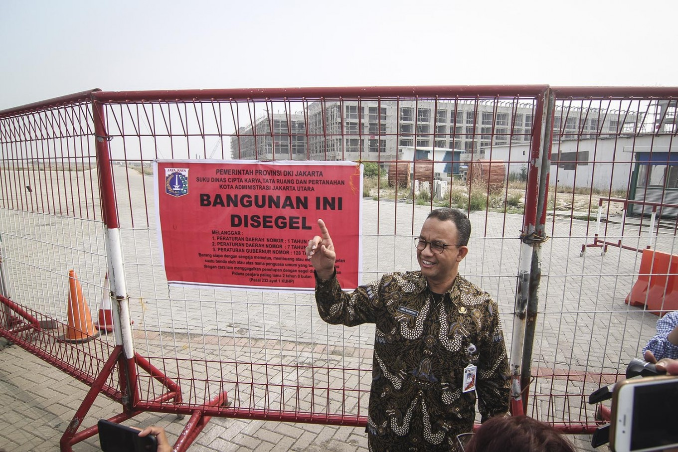 50 percent of areas on existing islets to be reserved for public: Anies
