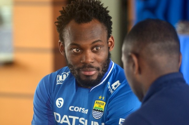 Ex-Chelsea player Michael Essien released by Indonesia's Persib Bandung