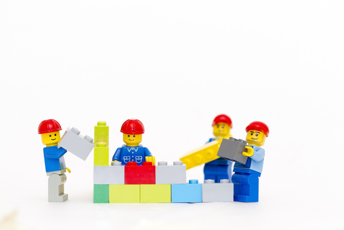 1.5 million LEGO blocks for family day out