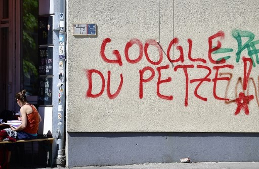 Berlin's punk-rock district charges into battle against Google