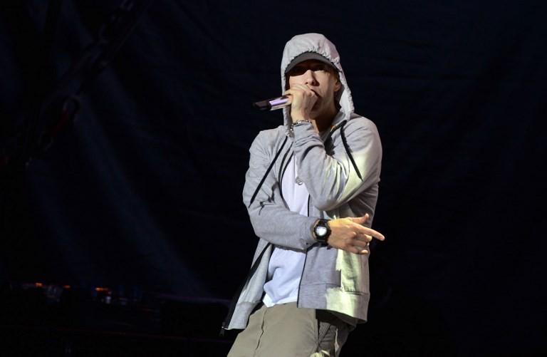 Sound effects mistaken for gunfire during Eminem's Bonnaroo set