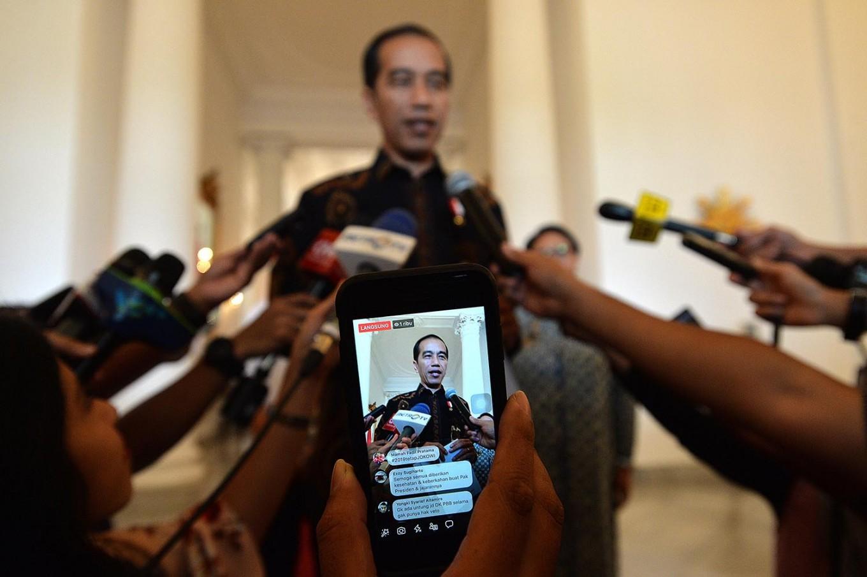 Mahfud, Airlangga, TGB on VP candidates list, Jokowi says