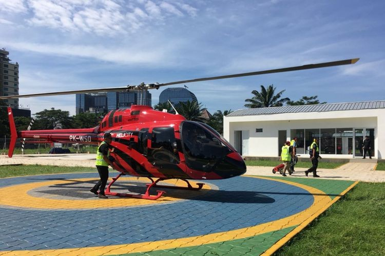 Helicity offers helicopter ride promotion for 'mudik'