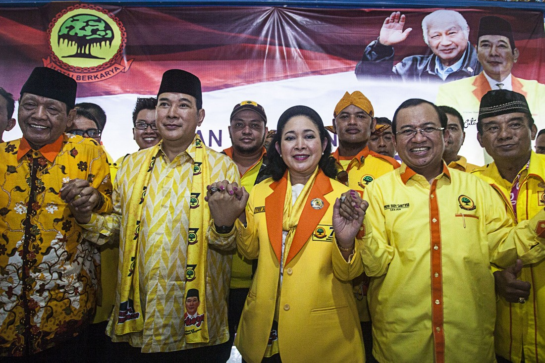 PKS confirms Berkarya's Tommy Soeharto, Titiek to meet with party bigwigs today