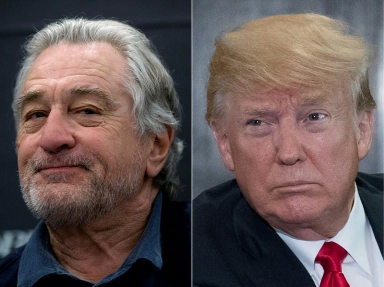 'Wake up Punchy!': Trump jabs back at De Niro