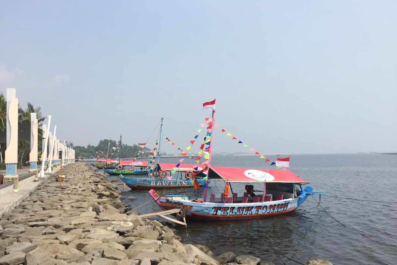 Ancol prepares tourist boats for Idul Fitri holiday