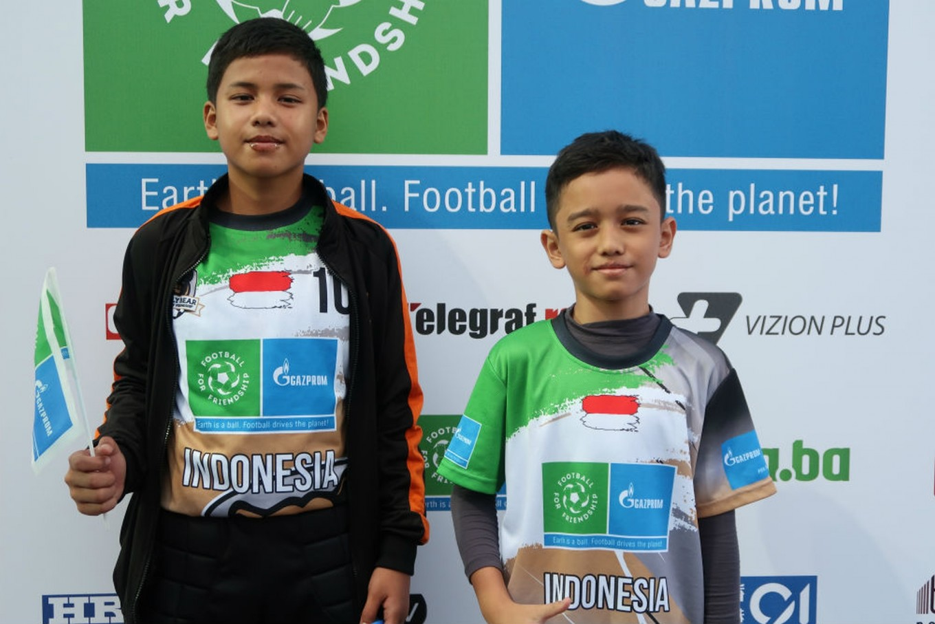 Indonesian teens make the best of trip to Russia