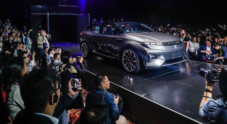 Chinese electric carmaker Byton raises $500m to take on Tesla