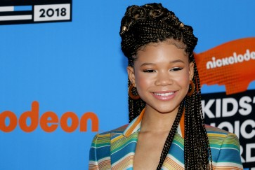 Oprah's advice stuck with 'Wrinkle' star Storm Reid