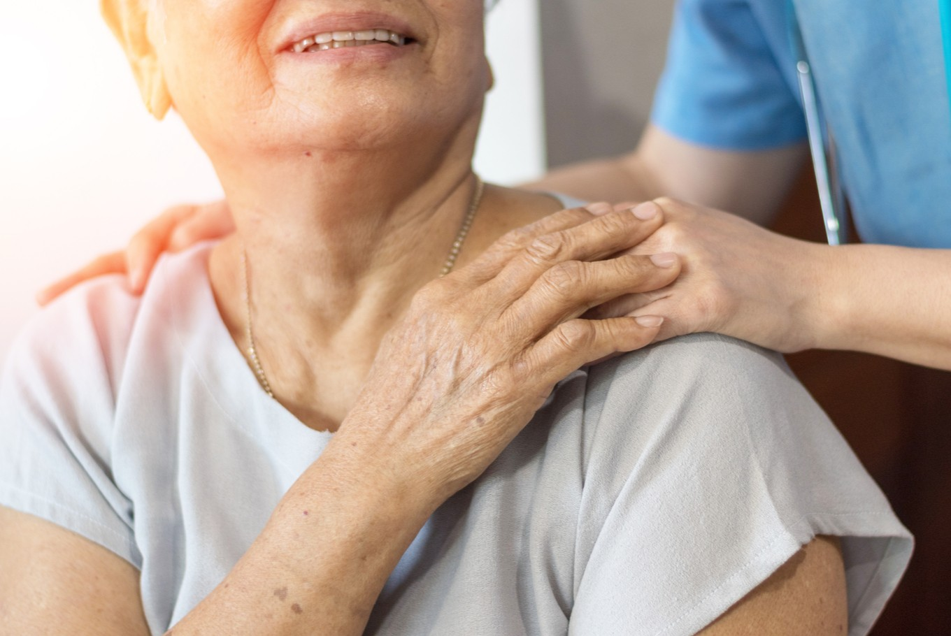 Elderly: 9% we rarely talk about