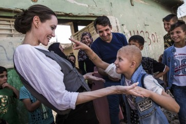 In Iraq, Angelina Jolie calls for focus on conflict prevention