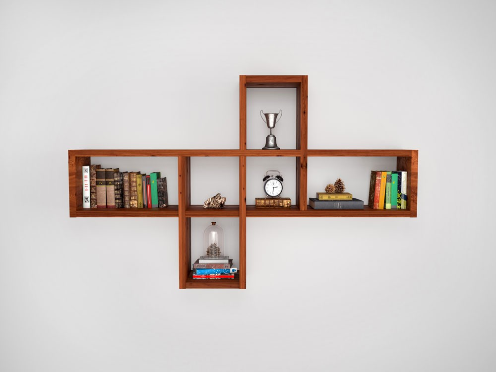 5 Wall Shelf Design Ideas For Small Spaces