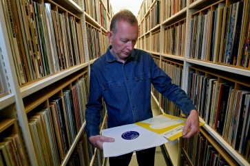 Music fans mark 70 years since first LP as vinyl enjoys revival