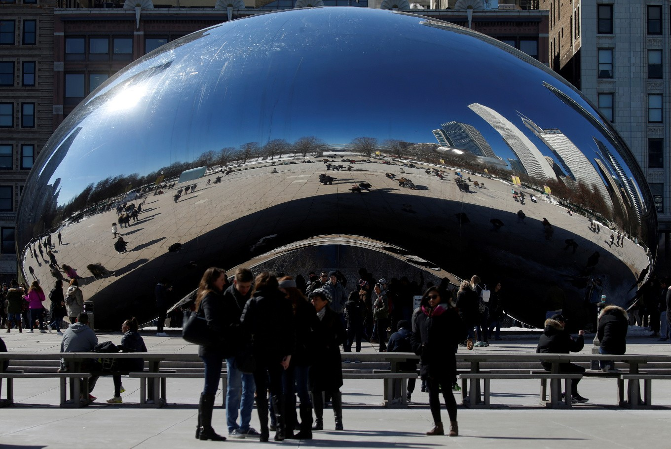'Cloud Gate' sculptor Kapoor sues NRA over recruiting video