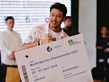 Indonesia to compete at 2018 World Barista Championship in Amsterdam
