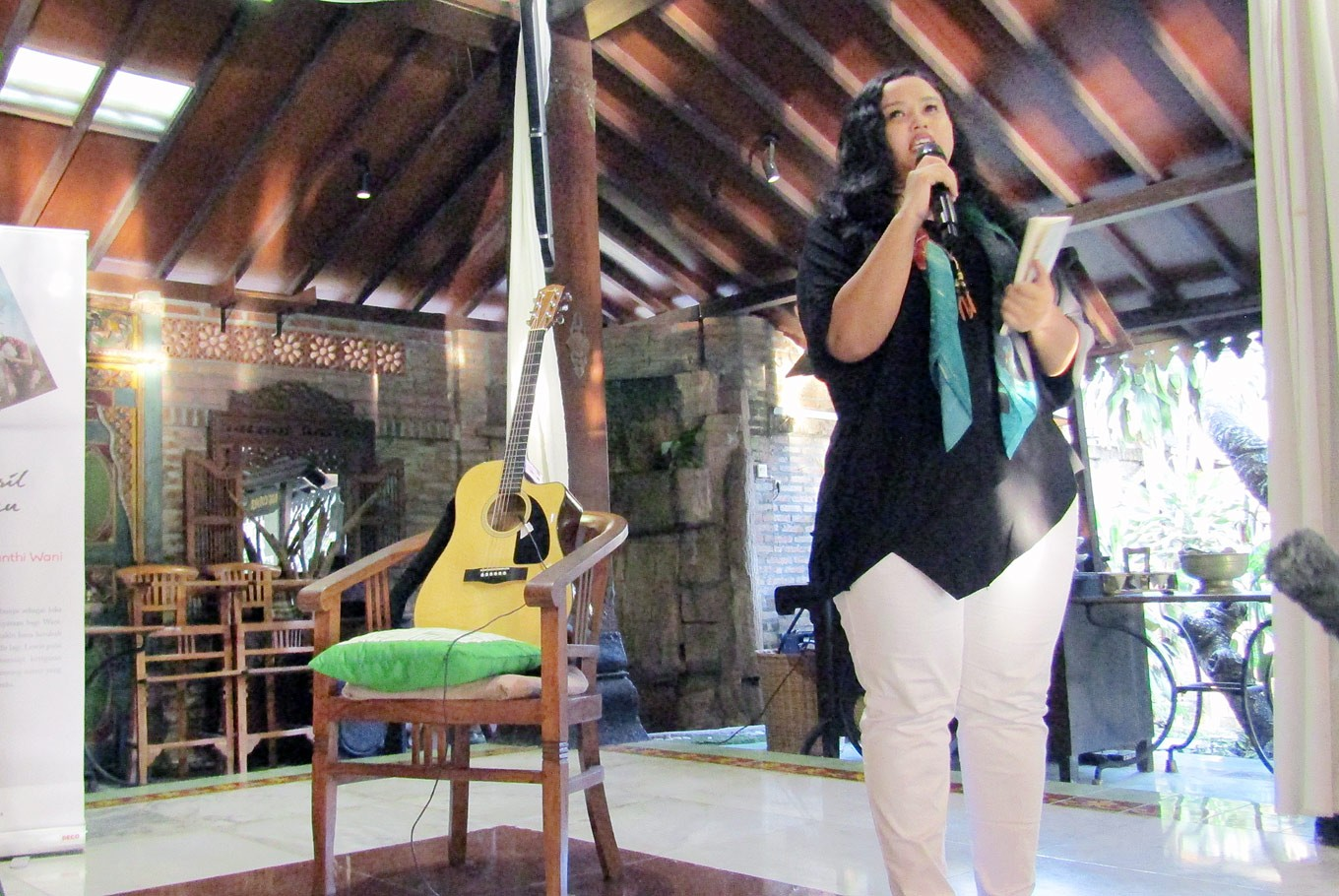 Wiji Thukul's daughter heals tragedy with poetry