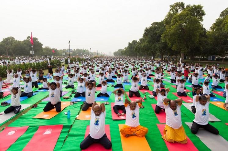 Strike a pose for International Yoga Day
