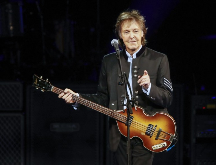 'I Feel Fine': Beatles legend McCartney gives COVID vaccine a shot in the arm