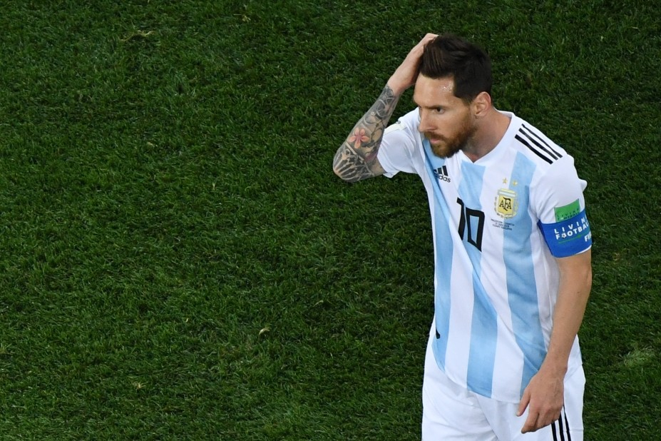 finest selection b6273 68e1c Messi feels pain as World Cup dream turns to nightmare ...