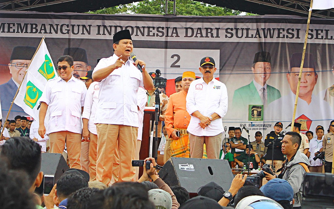 Prabowo raises funds; Gerindra denies being 'cash-strapped'
