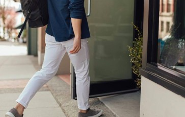 Now you can wear sweatpants to work and no one will know