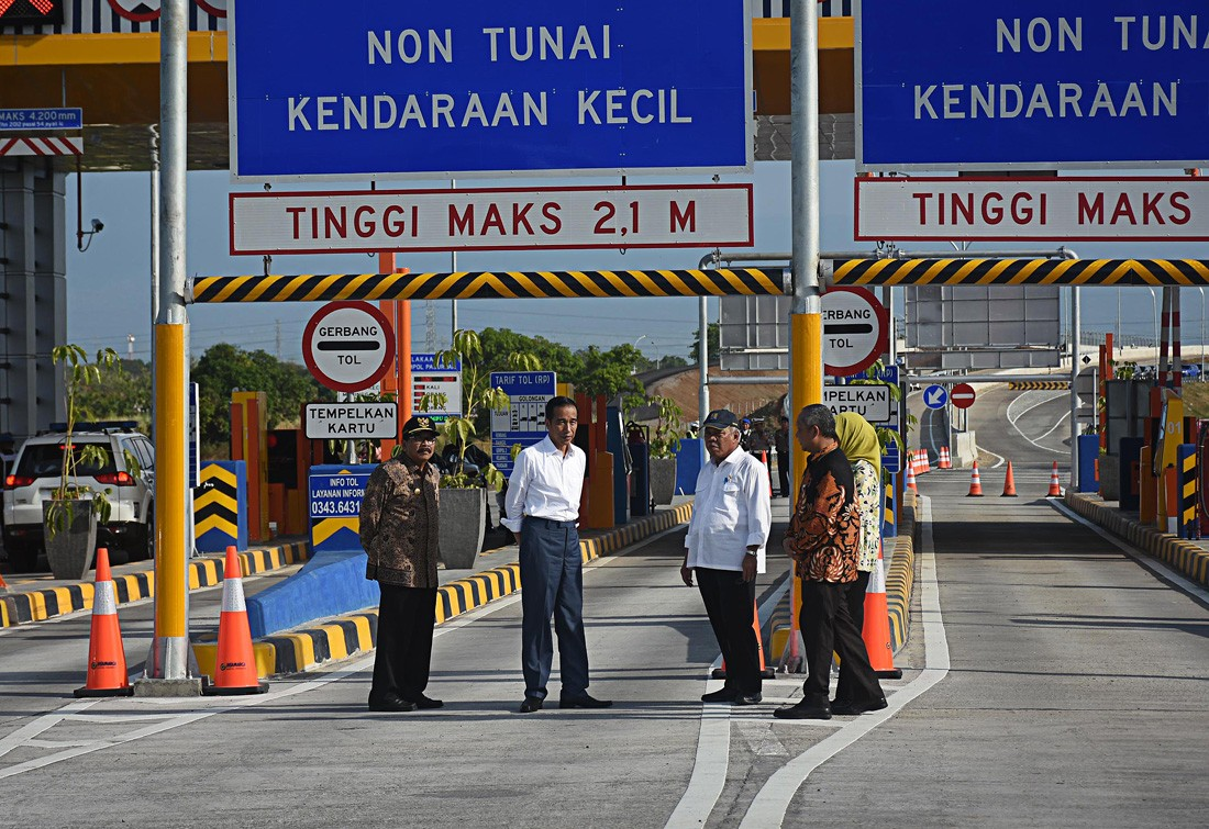 Entire Trans-Java toll road to be completed before 2020
