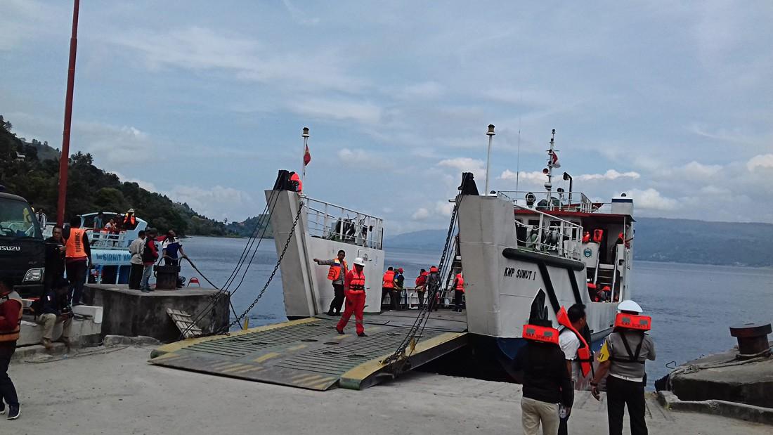 Toba sunken ship found 450 meters under water