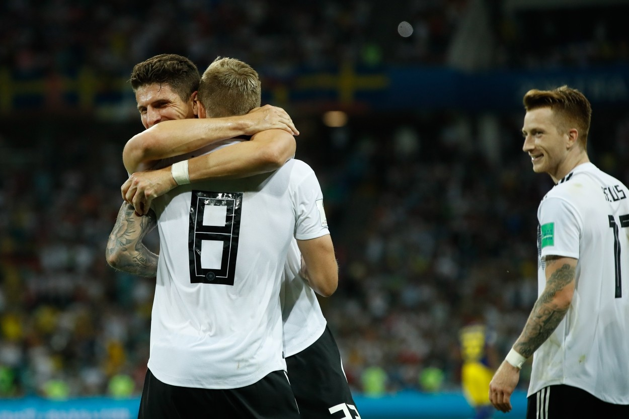Kroos relieved to make amends for Germany at World Cup