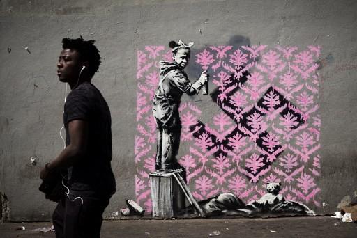 Graffiti Mural Paris