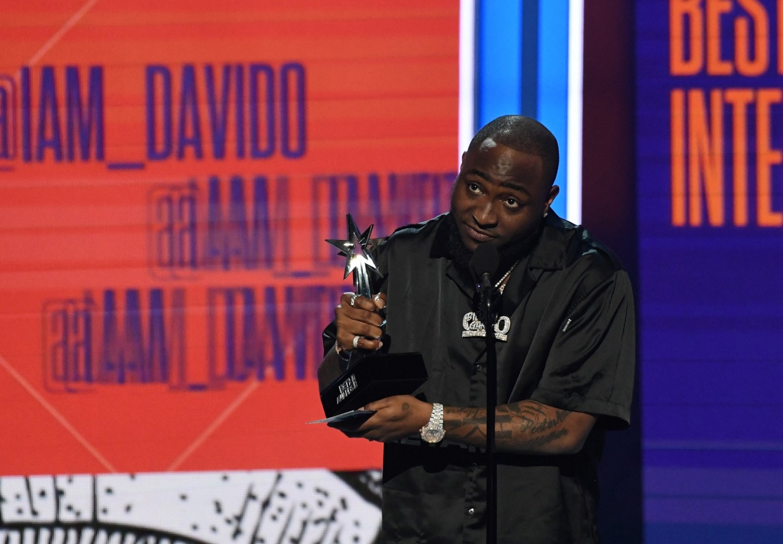 Nigeria's Davido wins AFRIMA artist of the year