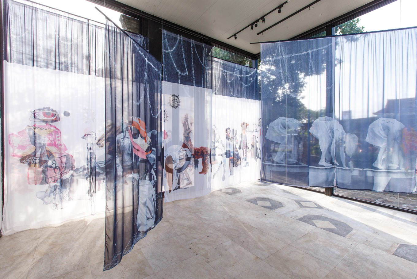 Sally Smart's 'P.A.R.A.D.E.' exhibition is running concurrently at BIASA in Kerobokan.