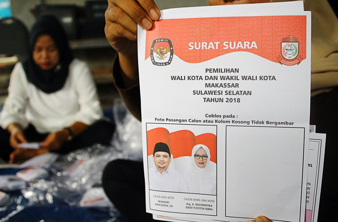 Makassar to rerun election in 2020 after blank box victory
