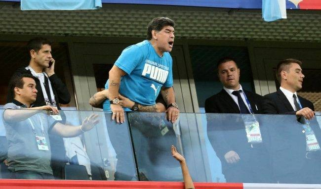 FIFA condemns Maradona comments about England-Colombia referee