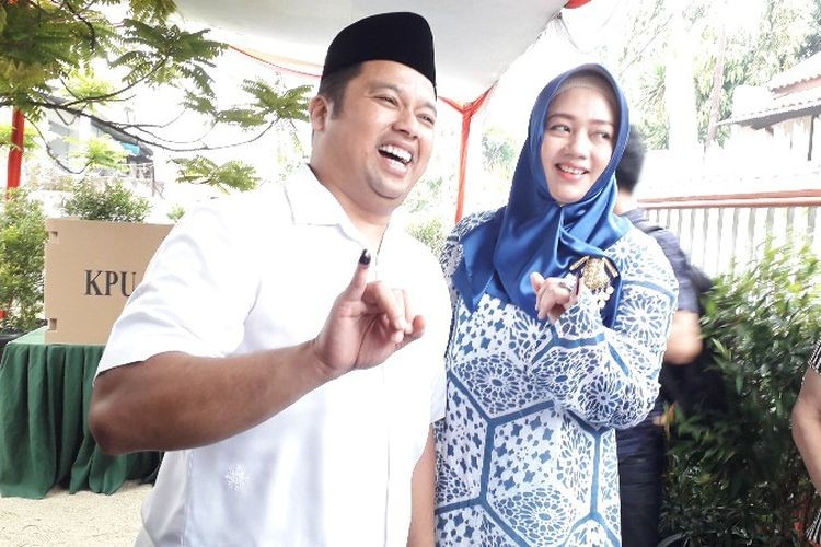 Blank box beats Tangerang incumbent pair at governor's polling station
