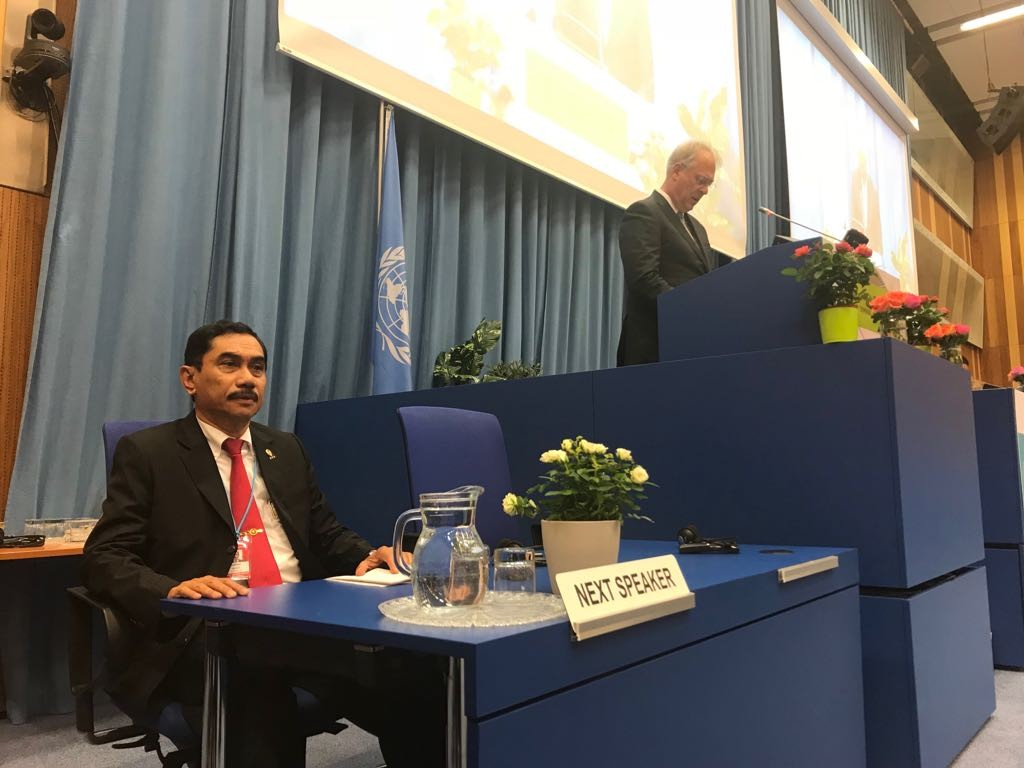 BNPT head attends UN conference on terrorism