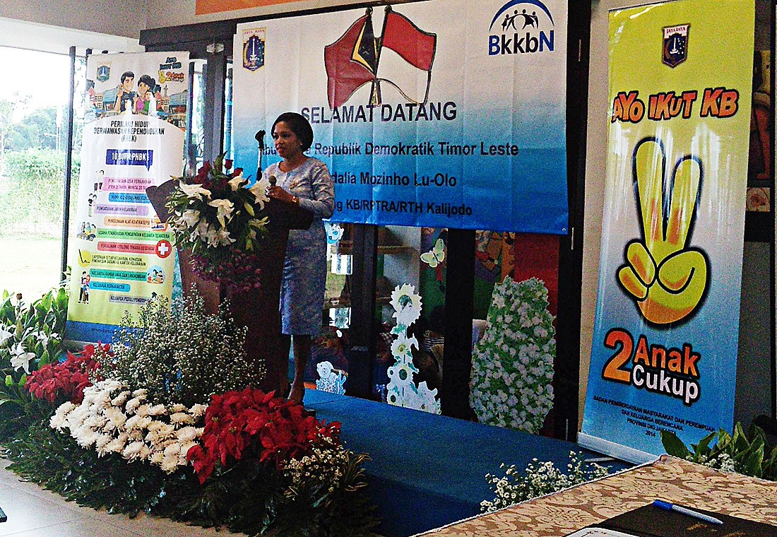 Indonesia, Timor Leste share experiences in family planning