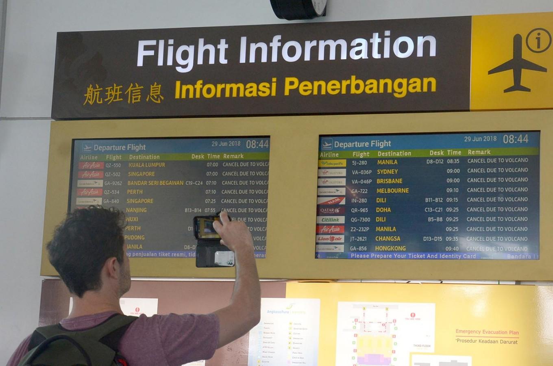 Fire at Bali Airport temporarily disrupts domestic flights