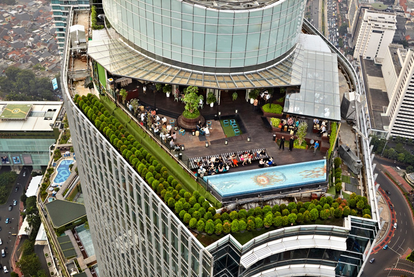 Jakpost nightlife: Rooftop Bars