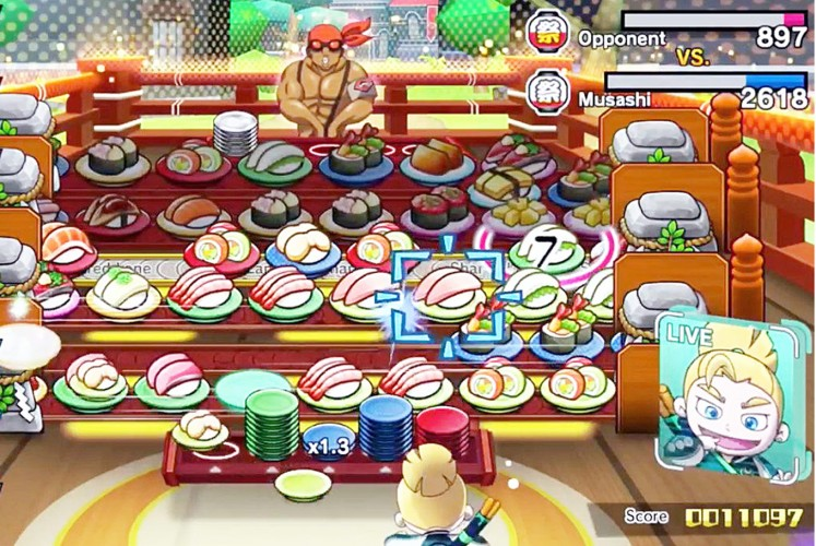 Pick me: Sushi Striker is an addictive puzzle game with a unique culinary gimmick.