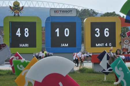 Jakabaring solar power plant inaugurated to support Asian Games