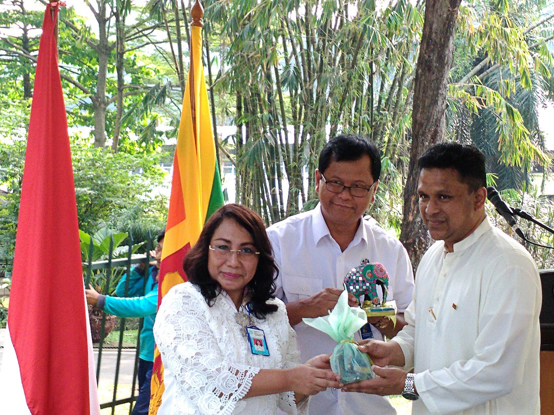 Na tree planted to celebrate RI-Sri Lanka diplomatic relations
