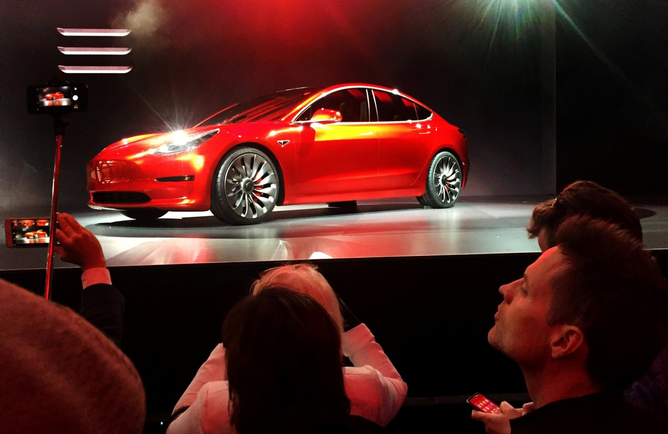 Shouting CEO, changing rules: inside Tesla's Model 3-building sprint