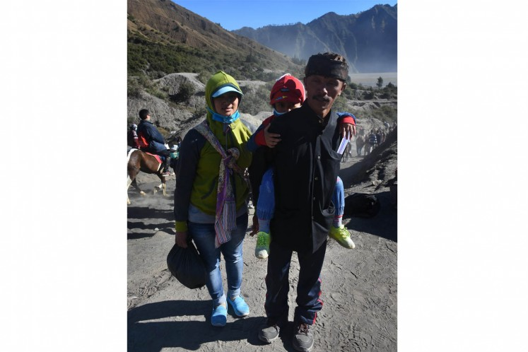 A celebration of gratitude on Mount Bromo
