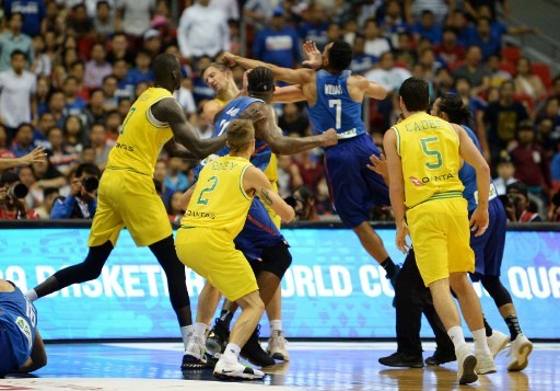 Aussies and Filipinos 'sorry' for #basketbrawl in Manila