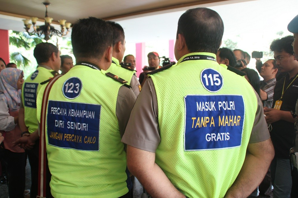 Police recruitment marred by fraud