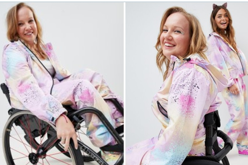 Paralympic athlete releases new, wheelchair-friendly ASOS clothing line