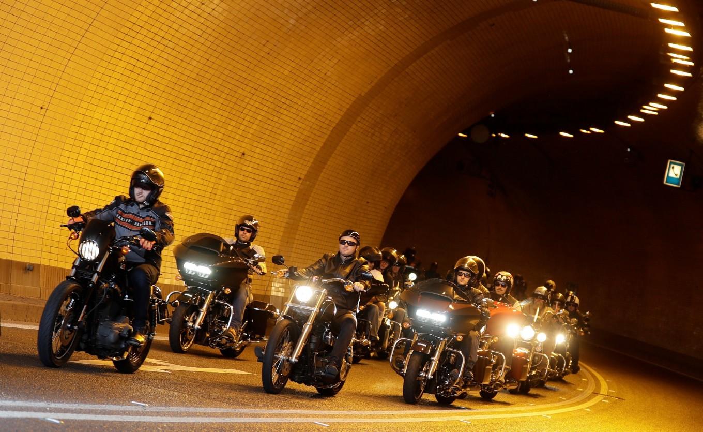 Harley-Davidsons roar into Prague for anniversary bash