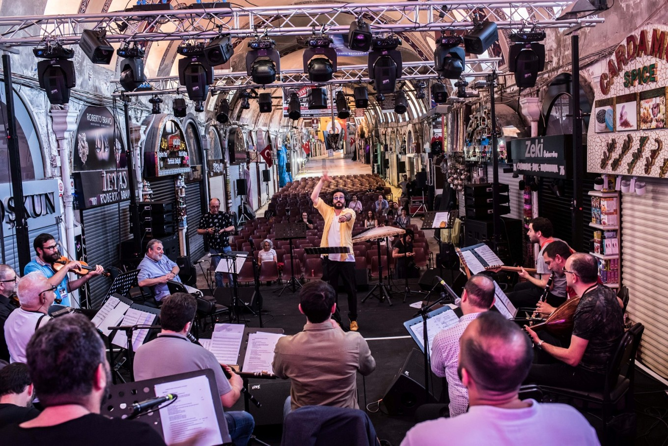 Festival takes music deep into Istanbul's centuries-old heritage