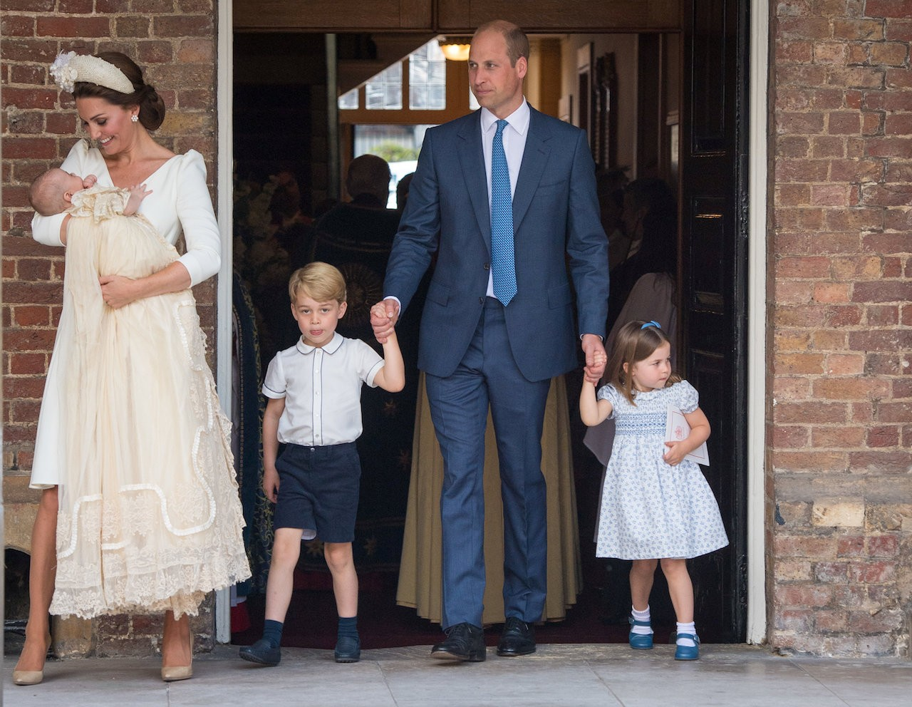 Queen misses christening of William and Kate's baby son