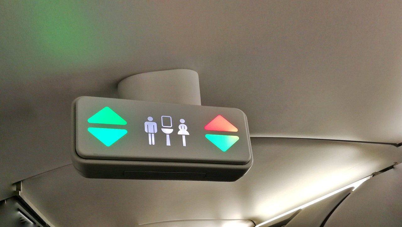 It's not your imagination, airline restrooms are getting smaller